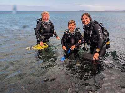 PADI Bubblemaker, duiken, kinderen, Dive College Lanzarote
