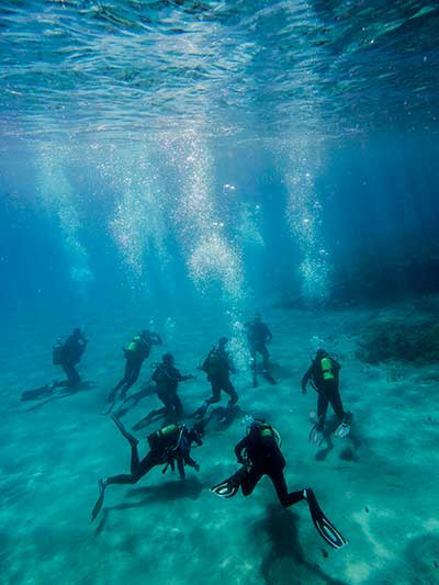 Try Dive, introduction, DSD, Discover Scuba, diving, start, dives, Dive College Lanzarote, Playa Blanca