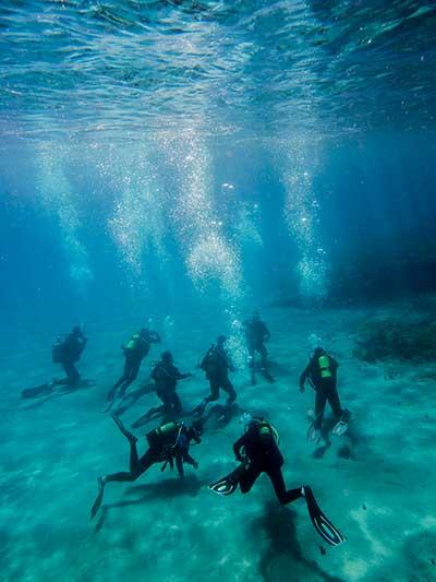 Schnuppertauchen, DSD, lernen, probe, tauch, tauchen, Dive College Lanzarote, Playa Blanca