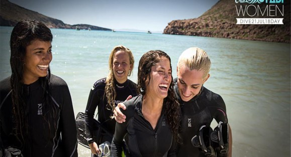 PADI Plans Women's Dive Day 2018 – Celebrating the Female Dive Community