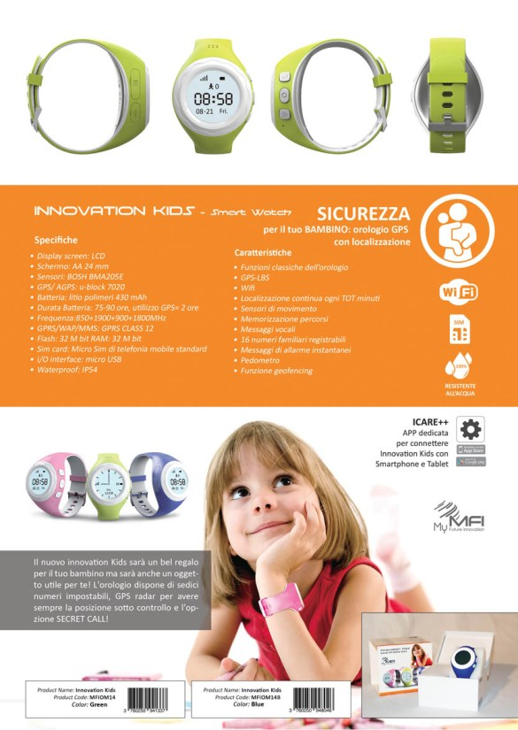 Innovation Kids – l'orologio per i piú piccoli