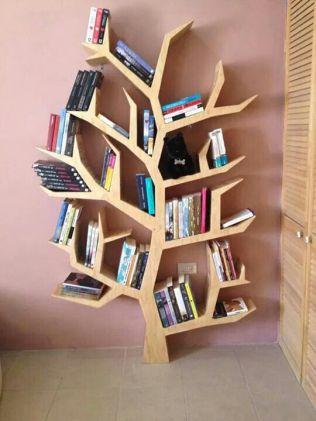 Libreria albero trovata su Pinterest