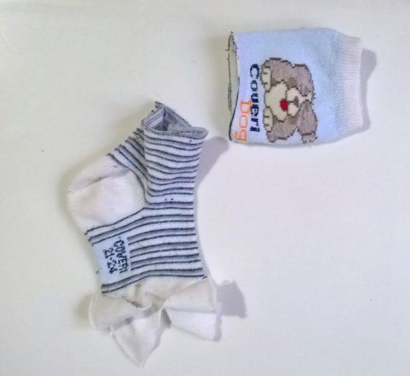 Riciclare i calzini spaiati.. e far divertire i bambini!