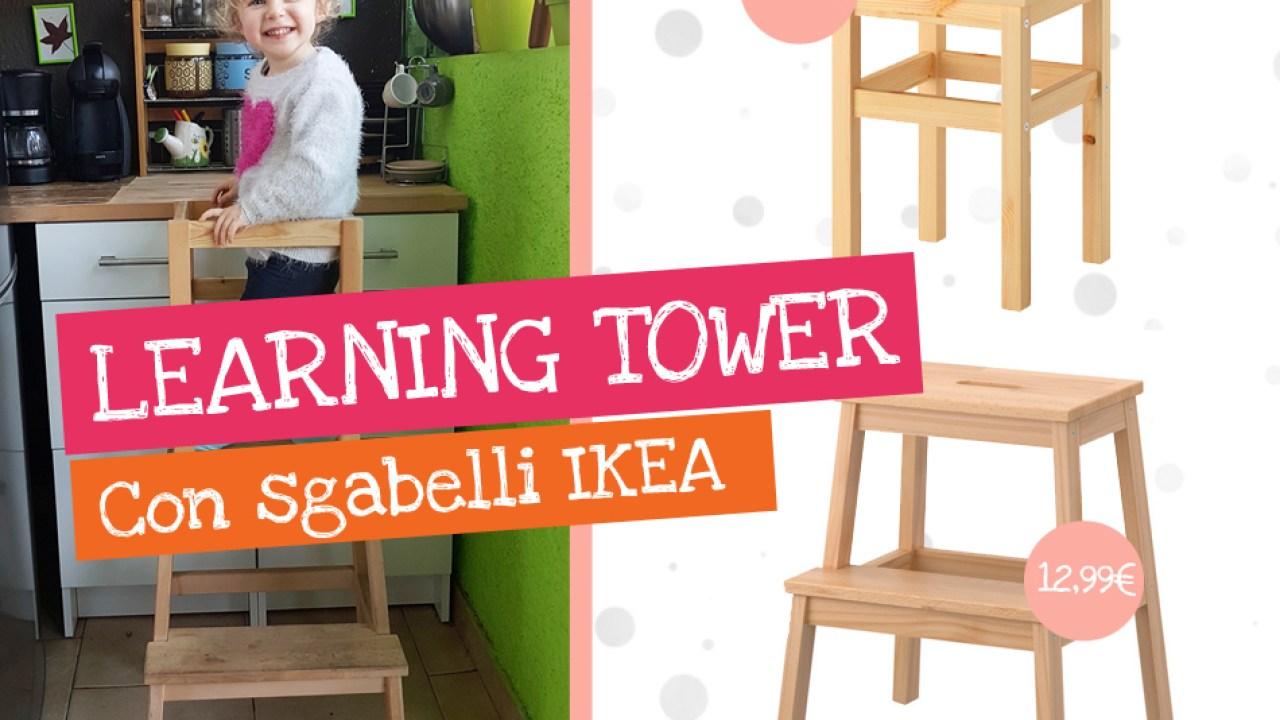 Sgabello Bambini Bagno Ikea come creare una learning tower con sgabelli ikea
