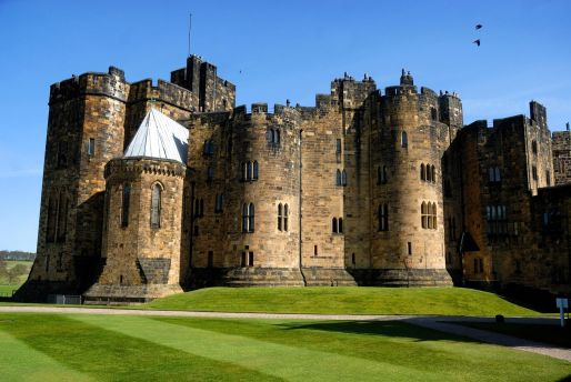 Alnwick Castle, Estates Office, Northumberland, England