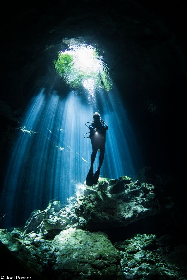 Cenotes Photographing The Light And Dark Side