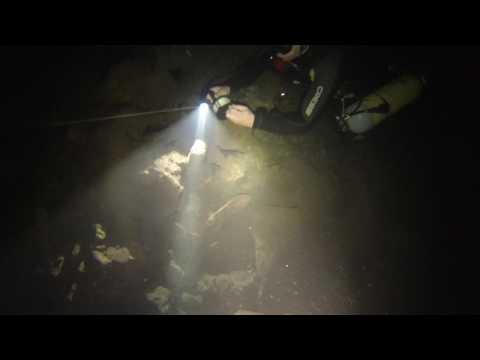 תאונת צלילה במהלך צלילה במערה