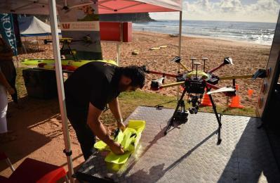 רחפן חילוץ והצלה באוסטרליה CREDIT:  AFP