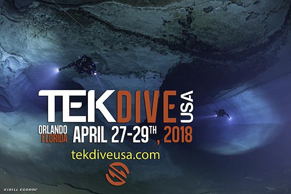 תערוכת TekDiveUSA 2018 יוצאת לדרך