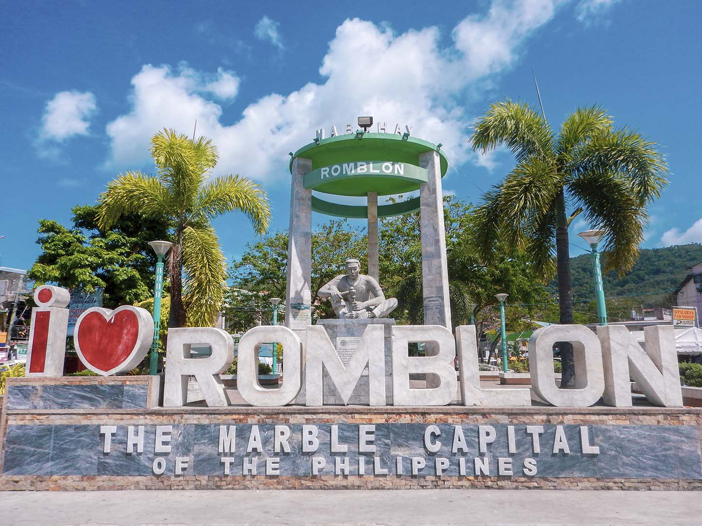 I love Romblon, the marble capital of the Philipppines