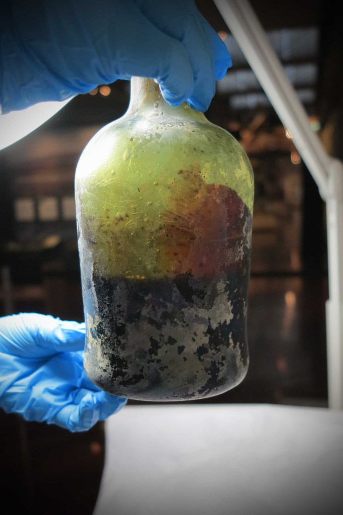 Innholdet i de over 200 år gamle flaskene viste seg å være mulig å bruke til øl-produksjon.