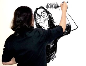 El caricaturista que incomoda al régimen de Daniel Ortega
