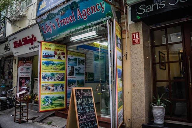 Afbeeldingsresultaat voor lily's travel agency hanoi