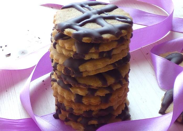 Frollini con cioccolato, vegani e senza glutine
