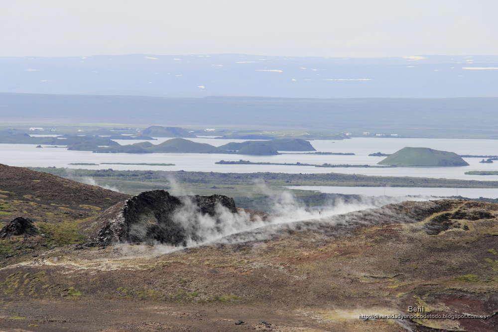 lago Myvatn, islandia
