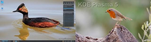 KDE Plasma 5, configurar multiples monitores