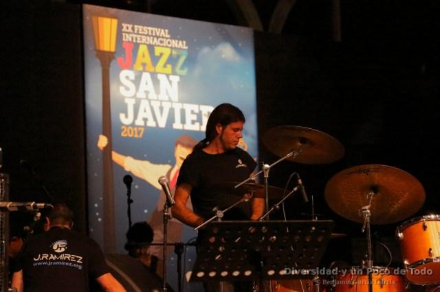 tecnico de sonido en el festival de jazz de san javier