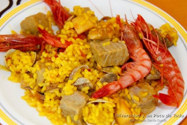 cocina con ciencia arroz marinero en paella
