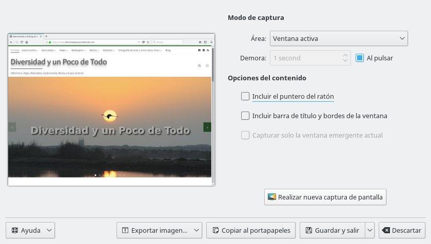 Spectacla, interfaz de la aplicación