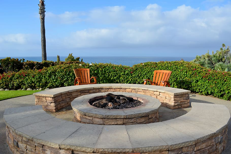 convert to a propane outdoor fireplace