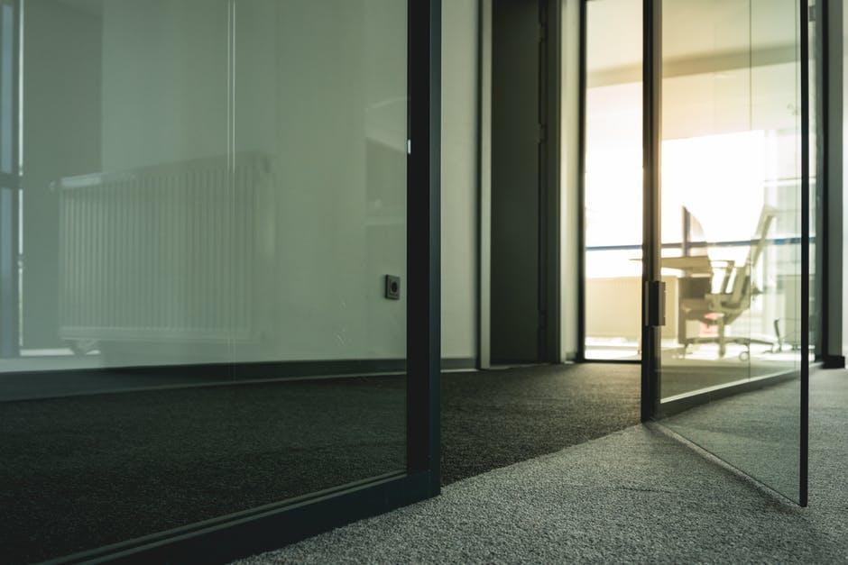 types of glass doors