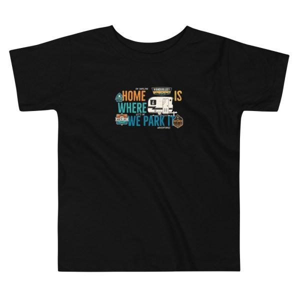 Camiseta niño negra