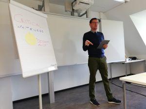 Martin Gössl talking about critical whiteness
