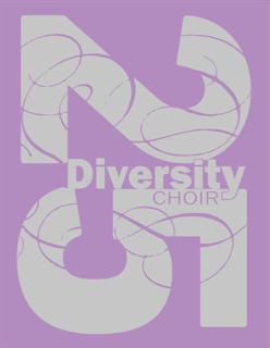 T-shirt design Diversity 25 purple