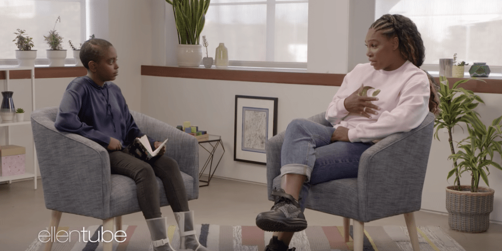 Serena Williams Opens Up to Youth Activist About Her Sister's Murder