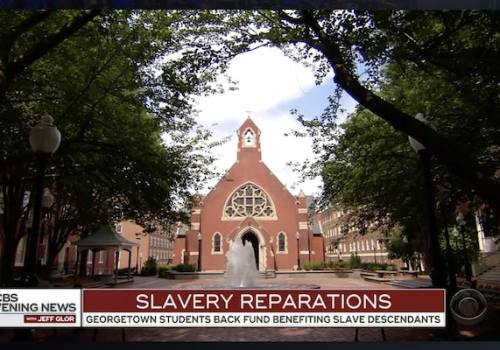 reparations, slaves, Georgetown, students, policy