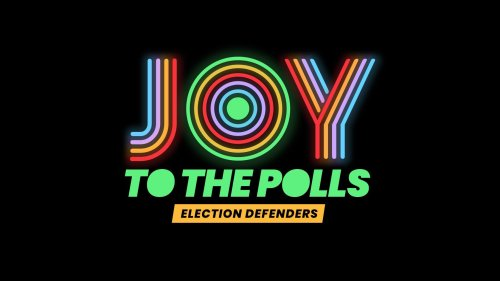 Joy to the Polls logo