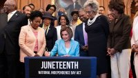 Juneteenth National Independence Day Act bill signing