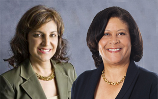 Consuelo Rodriguez, Dell, and Donna Johnson, MasterCard