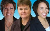 Kathy Russell, Stephanie Smith, Lydia Mallett