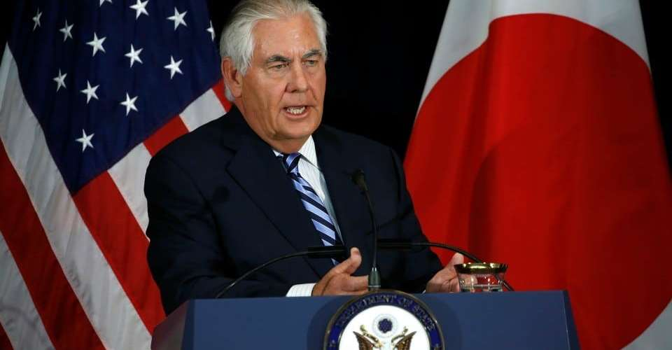 Rex Tillerson, 'Regardless Of,' 'It Doesn't Matter' — Bigoted Phrases in Common Use