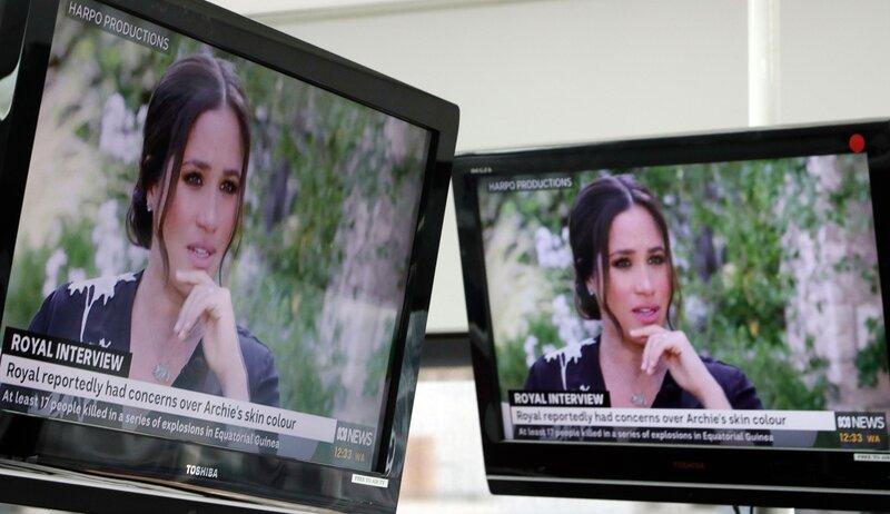 Meghan markle interviewed by Oprah