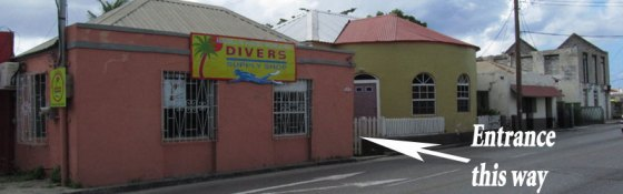 Diver Supply Barbados – Hazell's Water World - Shop front on Bay Street, Bridgetown, Barbados