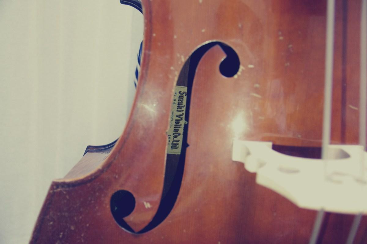 鈴木バイオリン コントラバスNo86 1975年製