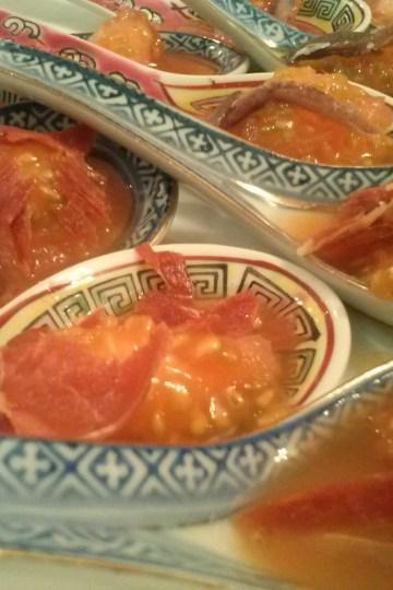 Cucharas de tomate