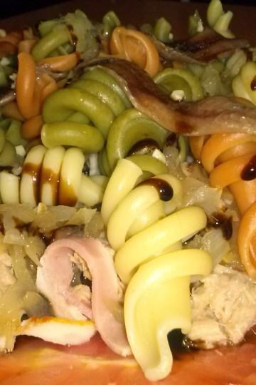Ensalada de pasta casera