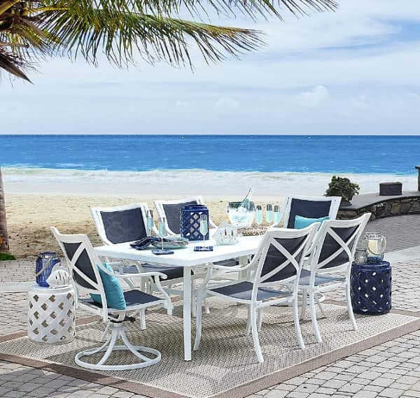 Grand Resort Patio Furniture Review Harbor Beach 7 Piece