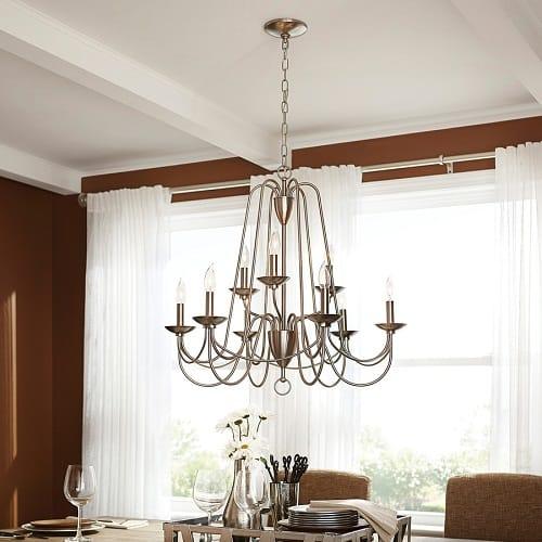 elegant lowes dining room lights under 500