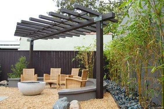 admirable gravel patio ideas