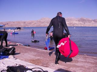 Dive Shack Lake Mohave