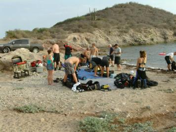 Dive Shack Scuba Diving San Carlos Mexico Divers of Flagstaff and Dive Shack USA