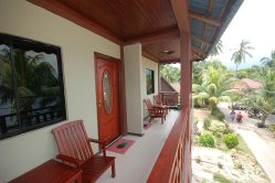 Balcony at Cozy Inn Tioman