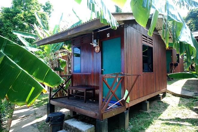 Basic Fan Rooms at Salang Indah