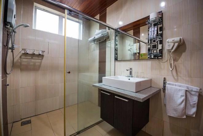 Deluxe Bathroom at Tioman Dive Resort