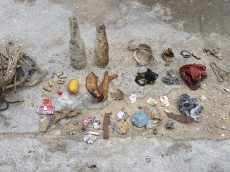 Debris collection on Tioman