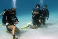 PADI OWD course with B&J